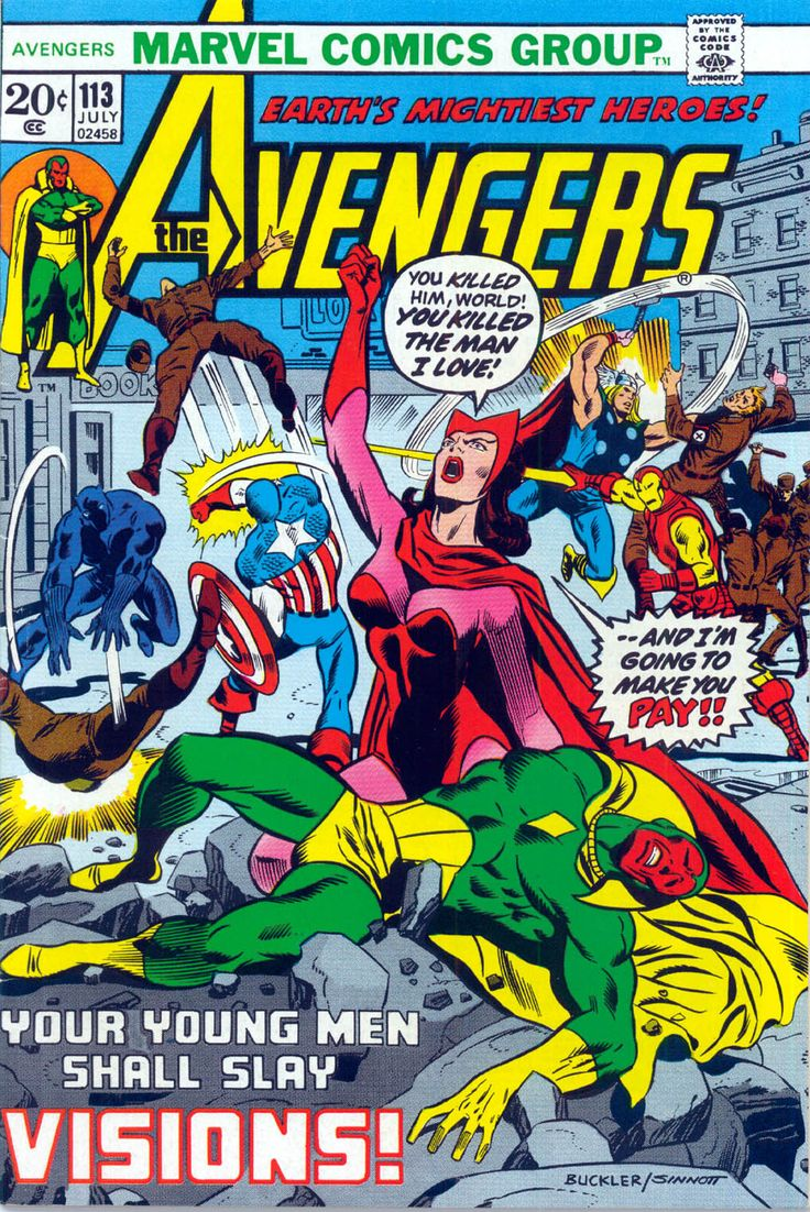 The Avengers (1963) Issue #113 - Read The Avengers (1963) Issue #113 comic online in high quality