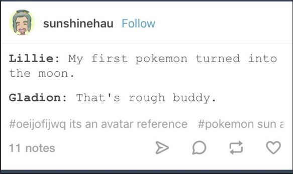 SPOILERS for Sun and Moon.