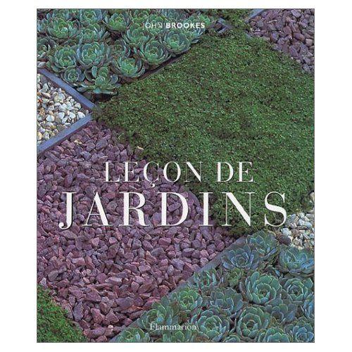 Leçon de jardin John Brookes livre