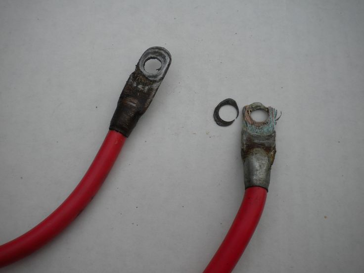 Golf cart battery cables need to be replaced periodically.  It's a quick and inexpensive repair.