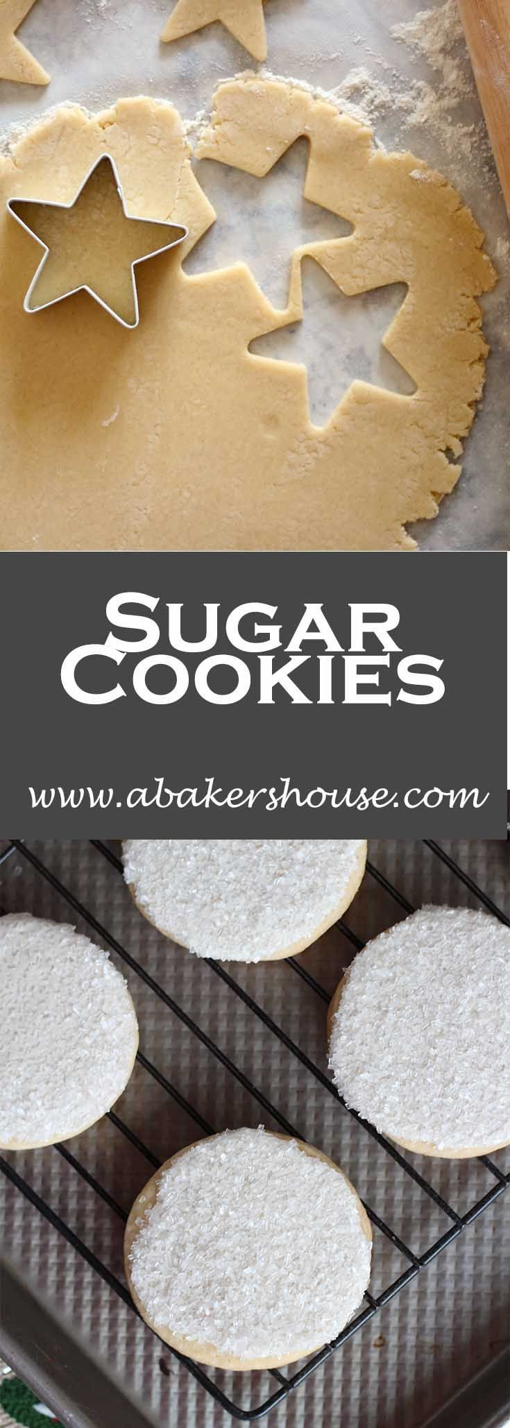 Try icing cookies with royal icing then dipping into sparkling sugar (or sprinkles if you can't find sparkling sugar). This is a quick way to dress up cookies without worrying about a pastry bag.