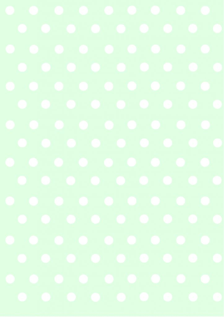 polka dots papers pastel green