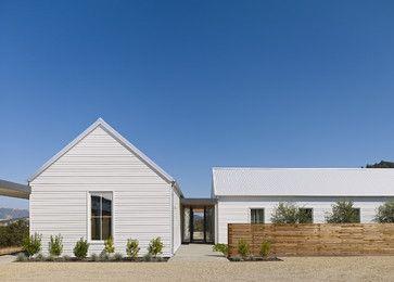 Healdsburg Residence - farmhouse - exterior - san francisco - Nick Noyes Architecture