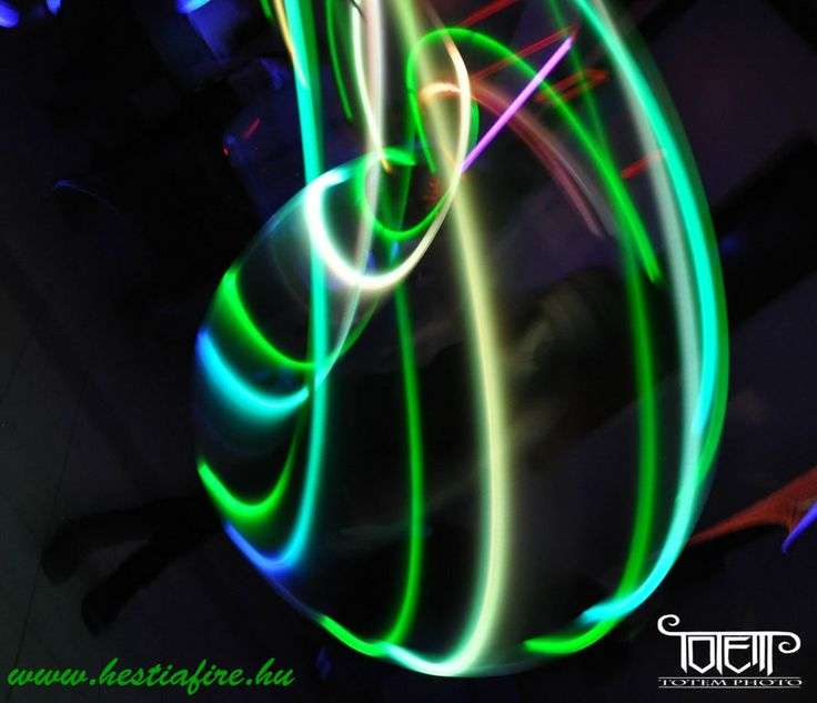 Led Light show - juggling - hulahoop