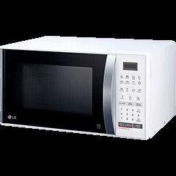 Micro-ondas LG MS2355R 23 litros Branco 15 Programas Função Eco On