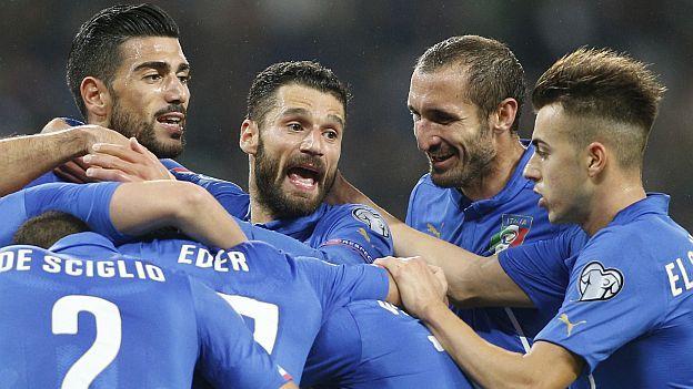 Italia necesita sólo un empate para asegurar el primer puesto del Grupo H en la eliminatoria a la Eurocopa Francia 2016. Se medirá el martes 13 de octubrea la 1:45 p.m. (horario peruano / transmisión DirecTV) a Noruega, que marcha segunda en la llave. Octubre 13, 2015.