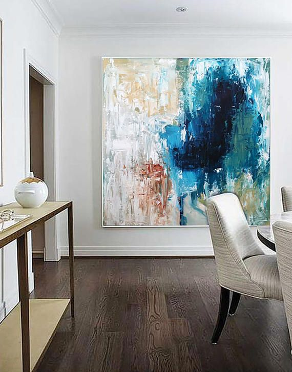 Set Of 2 Framed Art Abstract Print Wall Art Large Wall Art Blue Abstract Print Giclee Print Art Print From Painting Modern Abstract Decor Blue Abstract Wall Art Wall Art Decor