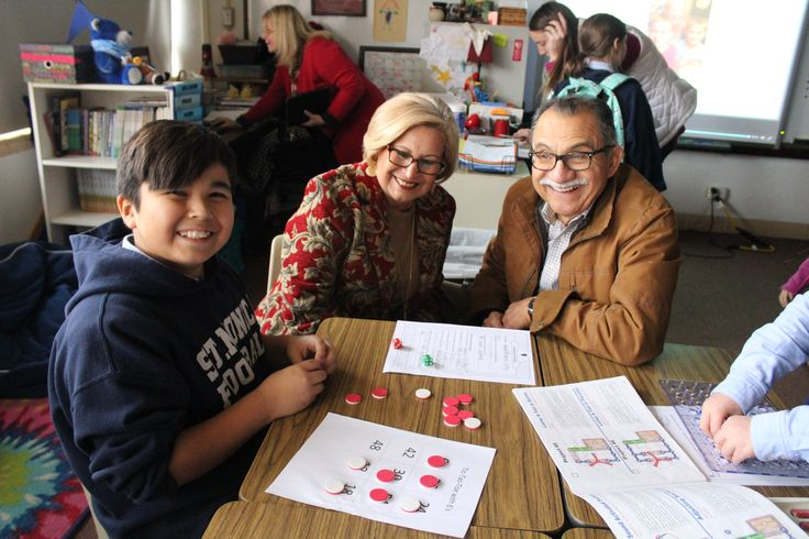 we LOVE our Grandparents @ St. Monica Catholic School