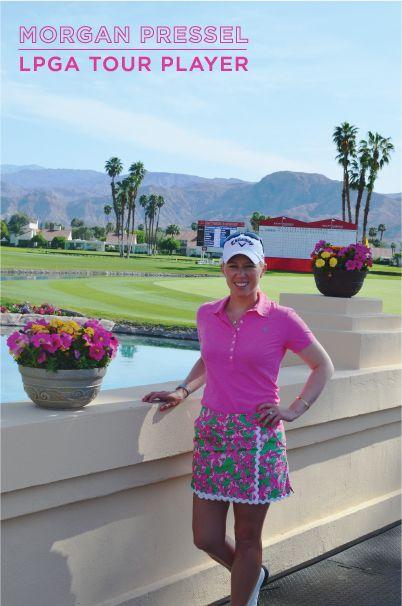 Lilly Pulitzer Sponsors LPGA Golfer Morgan Pressel