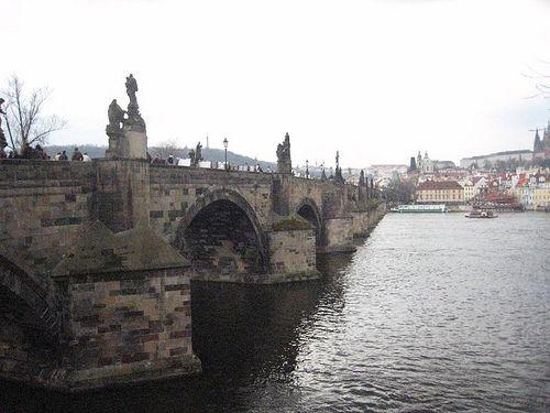 Charles Bridge,Prague,Czech Republic