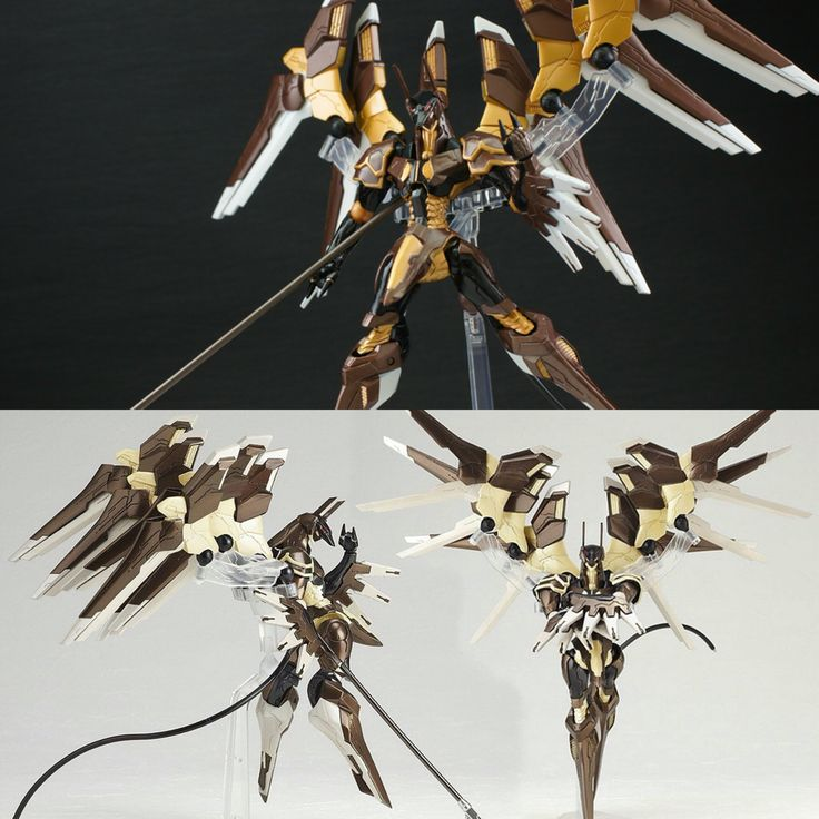 ANB1-5G00X a.k.a. Anubis - Naga's Mech - Swift and powerful, Anubis is so fast, the lack of armor isn't a problem. The wings are detachable for increased mobility. The staff has a built in beam dispersion field, meaning Beam sabers and similar weapons will not cut through it.