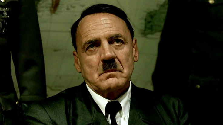 Hitler (Downfall, 2004). How best portray the man who might be the most infamous figure in all of human history? If you're the masterful Swiss actor Bruno Ganz, there's only one answer: all in. In Downfall, which chronicles Adolf Hitler's final descent into raving paranoia in the spring of 1945, as the Red Army prepares to conquer Berlin and his generals and gangster cronies desert him, Ganz plays the Reich's madman with a terrifying intensity.