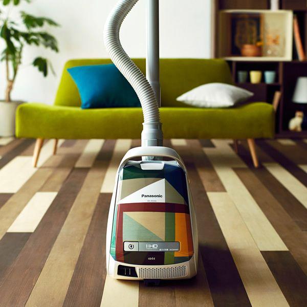 パナソニックからシャレオツな掃除機が登場!  「イデー」など3ブランドとコラボした限定品だよ