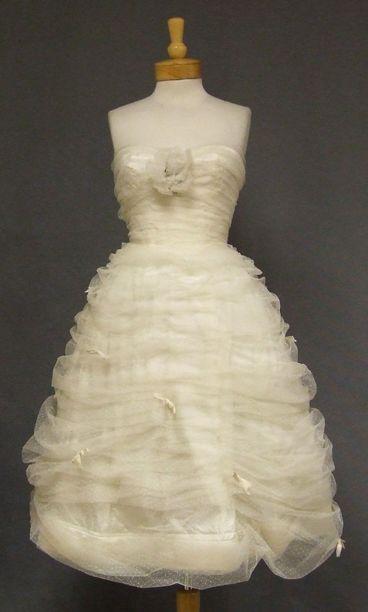 65 best Brides images on Pinterest   Groom attire, Vintage dresses ...