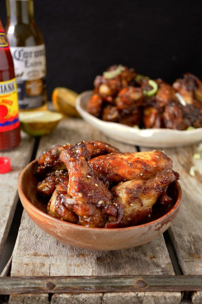 HONEY CHICKEN WINGS RECIPE PERFECT GAME DAY APPETIZER