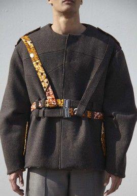 Coat - Wool with belts BUY IT NOW ON www.dezzy.it!