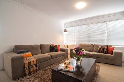 Interior styled Lounge Room by Vinterior Contemporary Design - Ready for an open house.