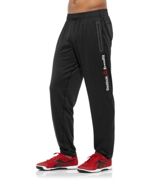 Reebok Mens CrossFit Knit Track Pant Pants