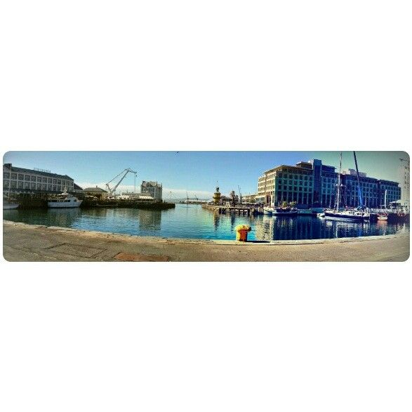 Sunshiny day in the waterfront