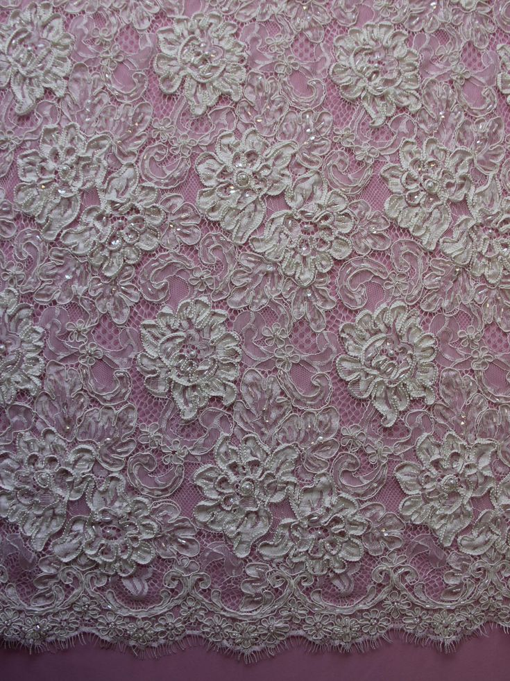 Ivory Corded Lace - Keeley