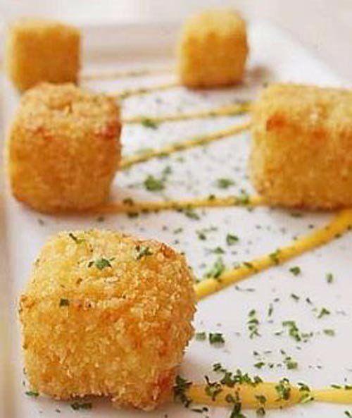 Crispy Cheese cubes | Easy recipes.