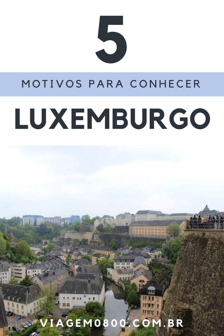 Apesar de ser bem pequeno, Luxemburgo possui muitos atrativos turísticos: é uma das sedes da União Europeia, tem uma rota de castelos e parece o Mini Mundo. Confira nosso post:http://www.viagem0800.com.br/5-motivos-pra-nao-deixar-de-ir-luxemburgo-2/
