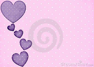 Pink polka dots background 25 pink polka dots background with purple hearts voltagebd Choice Image