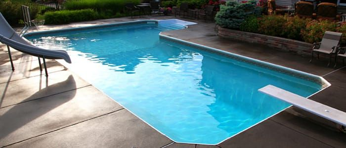 Pool Warehouse offers Free Shipping on all L Shaped Swimming Pool Kits! Pool Warehouse, selling in-ground pool kits online or over 15 years online!
