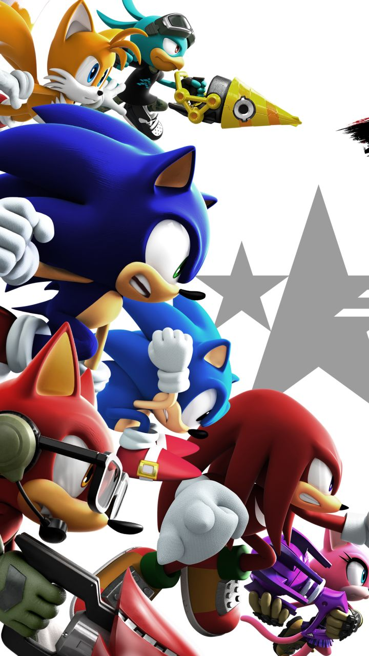 Video Game Sonic Forces 720x1280 Mobile Wallpaper Sonic Game Sonic Cute Pokemon Wallpaper