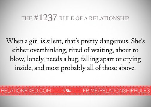 Relationship Rule #1237