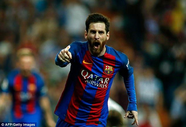 Lionel Messi stole the show on Sunday evening by scoring a brace against Real Madrid...