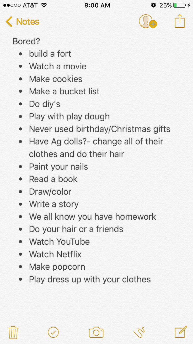 Stuff To Do In The House When Your Bored
