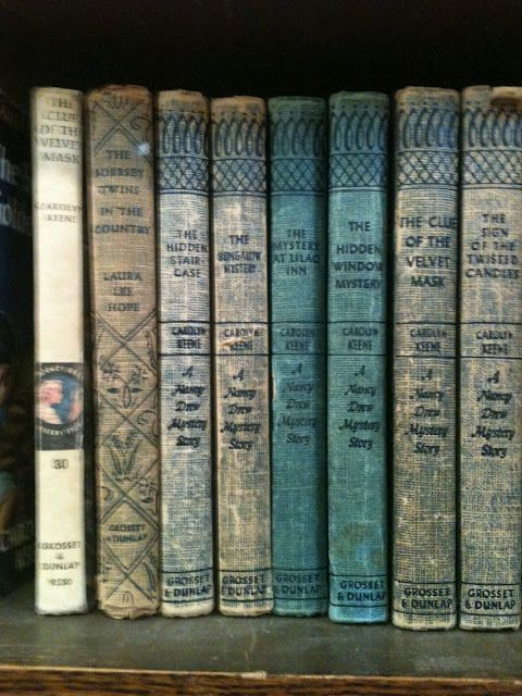 Nancy Drew: I lost a first edition when loaning it to a friend in third grade. My grandma had given it to me and I STILL miss it.