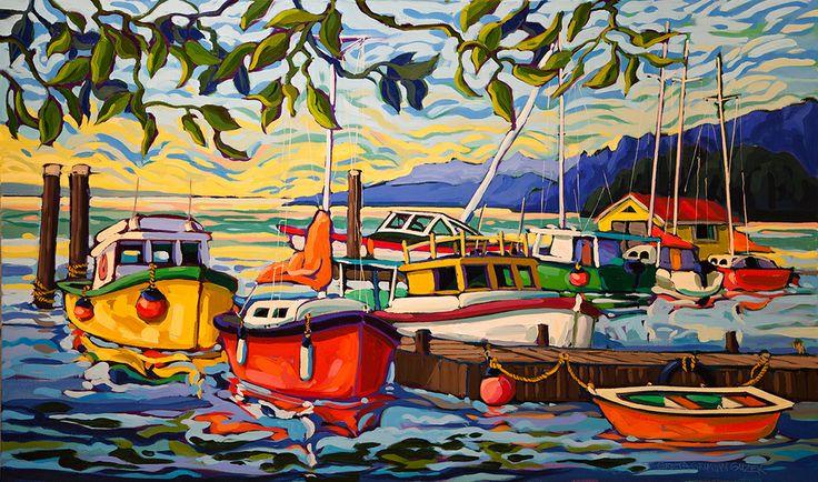 Greta Guzek - MOMENTARY CALM (30x50)