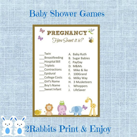 Sweet Sweet Baby Baby Shower Game: 128 Best Images About Baby Shower