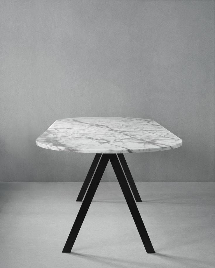 Saw Series table (marble) from Friends & Founders