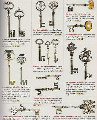 Antique Norwegian handmade keys