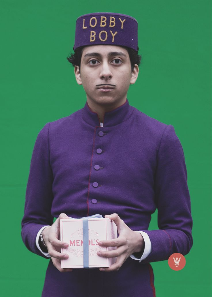 Tony Revolori - The Grand Budapest Hotel (Wes Anderson)