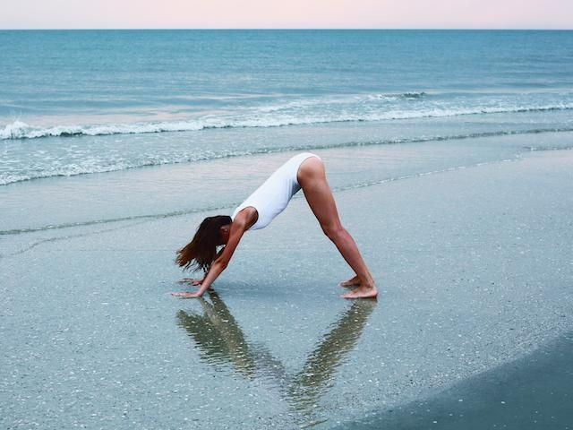 best yoga to relieve wind and trapped gas, flying,