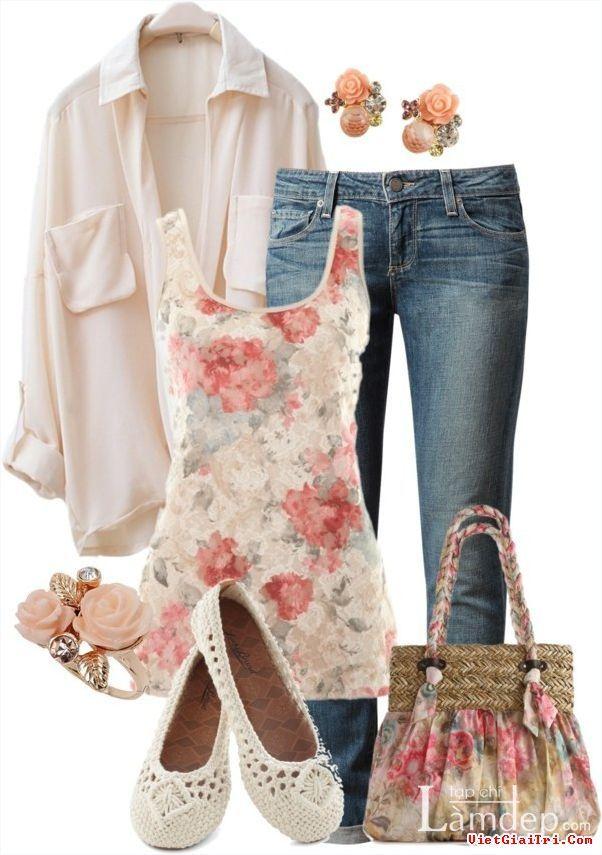 17 Wunderschöne Spring Polyvore Outfits
