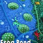 Frog & Pond Habitat Sensory Bin