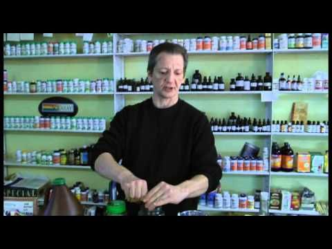 How to Make An Herbal Extract - YouTube - This guy is a hoot