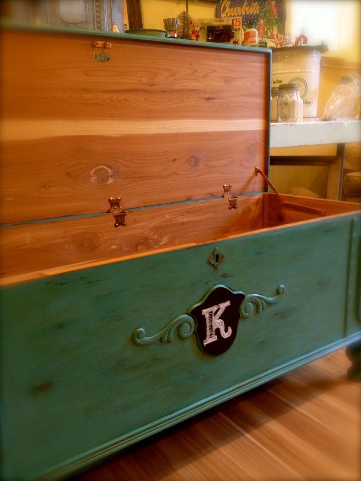 Mejores 24 imágenes de Cedar/Hope chest makeovers & original en ...