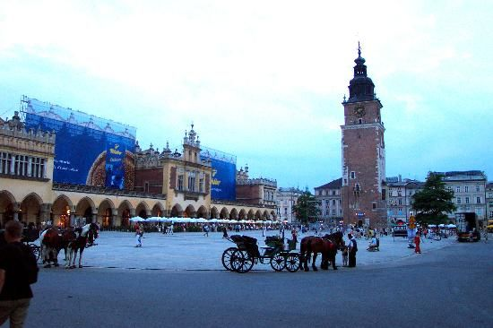 My favorite Polish city, loved walking through the streets.