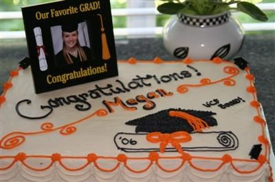 High School Graduation Cakes   Two easy homemade high school graduation cake ideas - Gifts And Favors ...