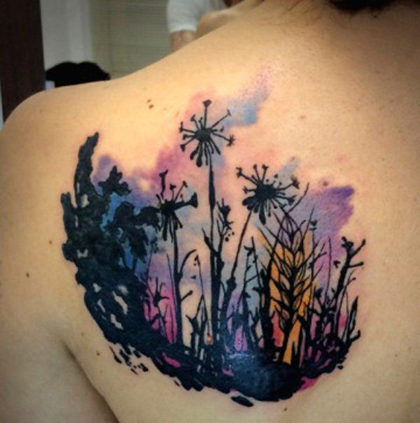 26 Dandelion Tattoo Designs Ideas: 17 Best Ideas About Dandelion Tattoo Design On Pinterest