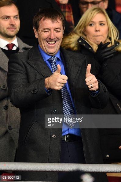 01-18 Southampton legend Matthew Le Tissier gestures from the... #lesentier: 01-18 Southampton legend Matthew Le Tissier… #lesentier