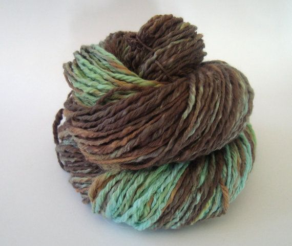 Bulky Cotton Yarn 353 Oz by deorigenchile on Etsy, $12.00