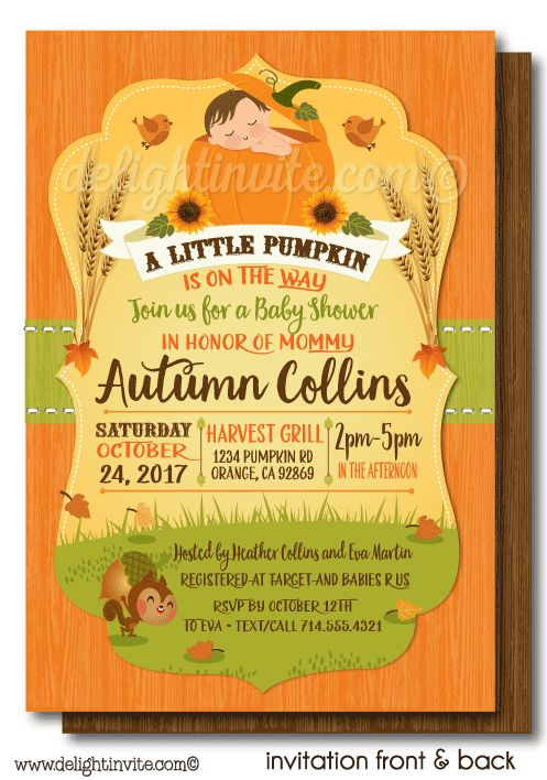 8 best fall theme little pumpkin baby shower invitations images on fall little pumpkin baby shower invitations lil pumpkin baby shower invites printed lil filmwisefo