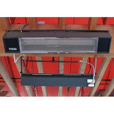 Model S34 Patio Heater Finish/Fuel Source: Black/Natural Gas - http://www.firepitsoutdoorheaters.com/model-s34-patio-heater-finishfuel-source-blacknatural-gas/